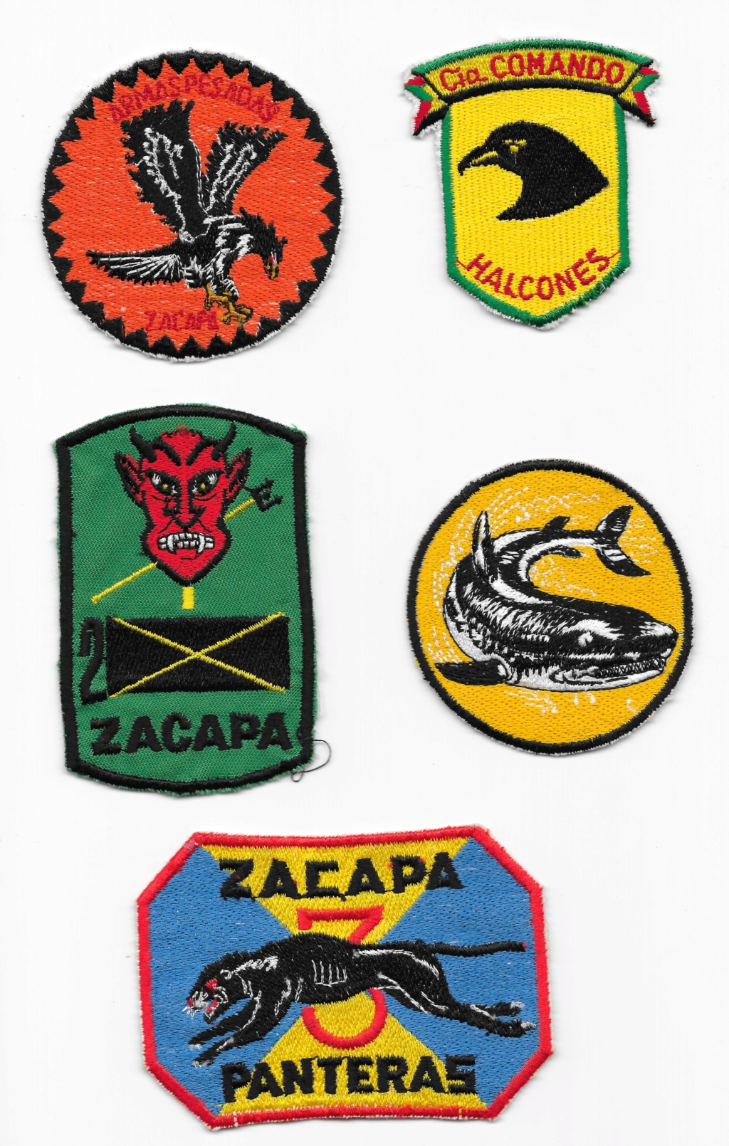 Guatemalan Armed Forces patches (Part1) Guatem12