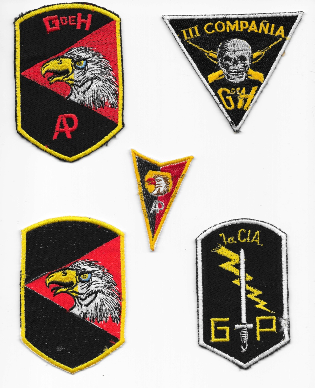 Guatemalan Armed Forces patches (Part1) Guatem13