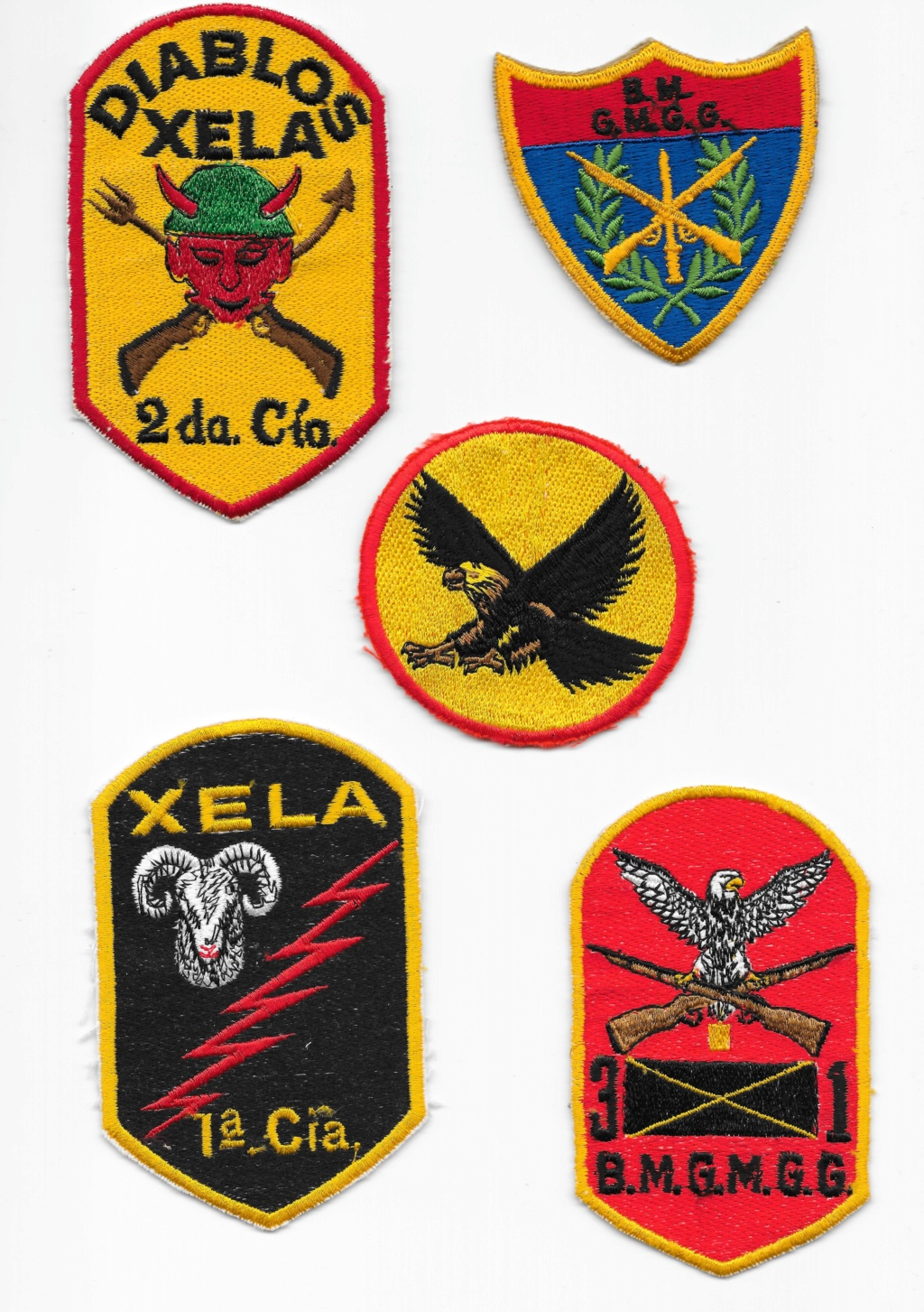 Guatemalan Armed Forces patches (Part1) Guatem14