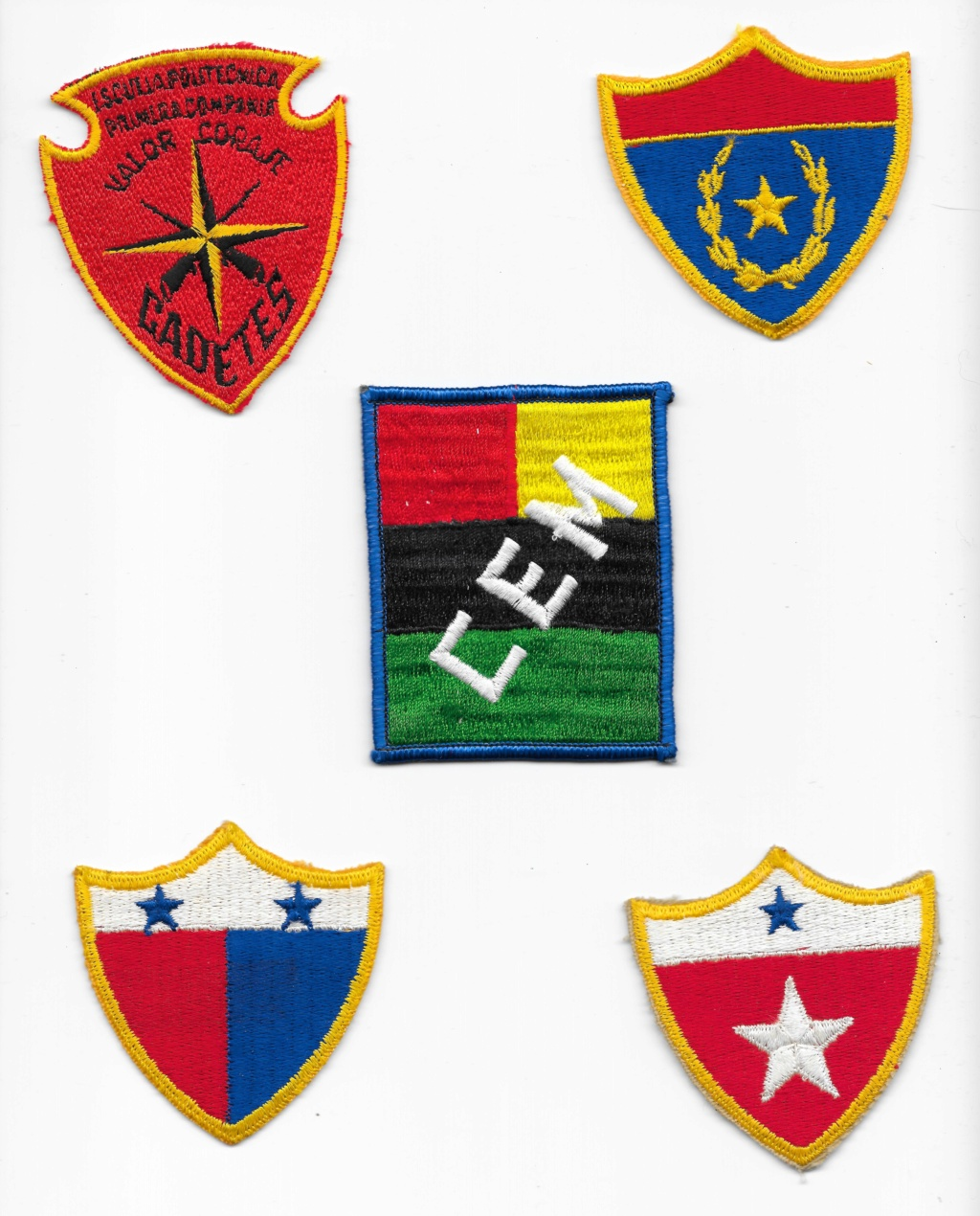 Guatemalan Armed Forces patches (Part1) Guatem17
