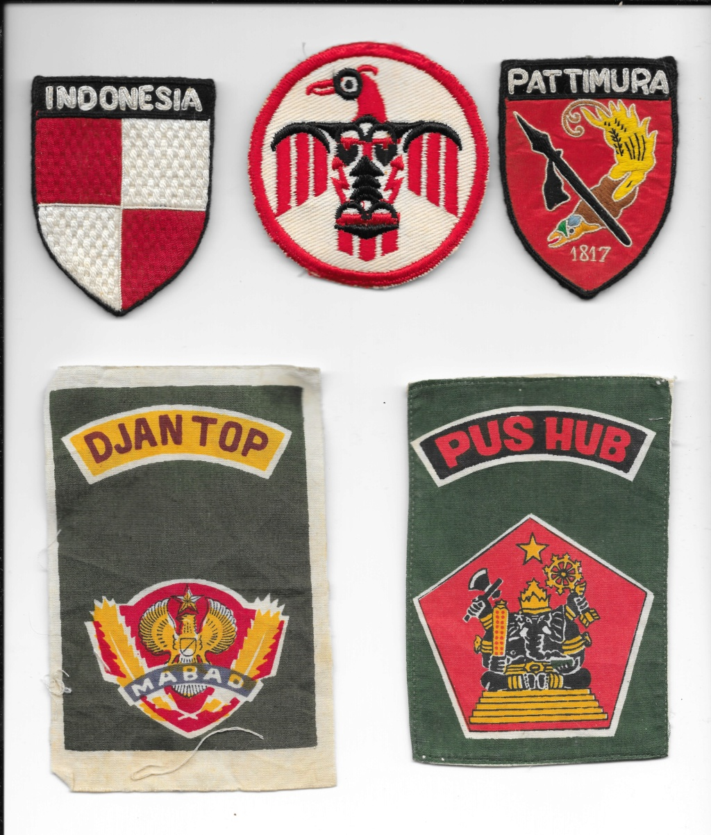 Indonesian military patches Indone10