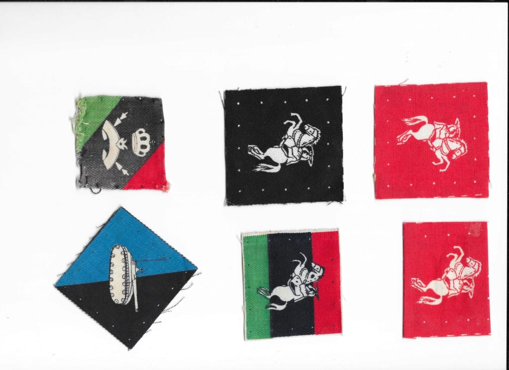 Pre-Gaddaffi Libyan armed forces badges Libya_10