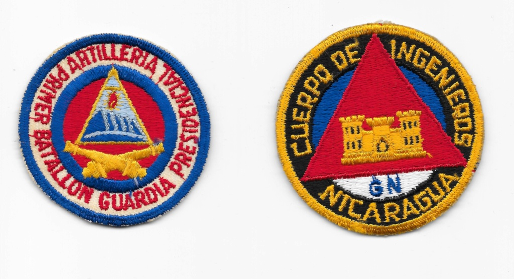 Nicaraguan Armed Forces patches Nicara10