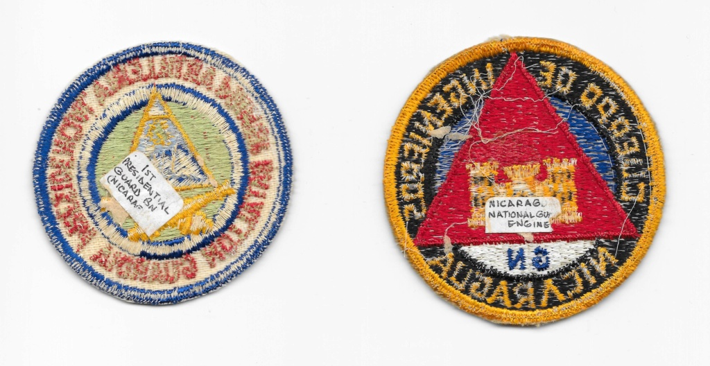 Nicaraguan Armed Forces patches Nicara11