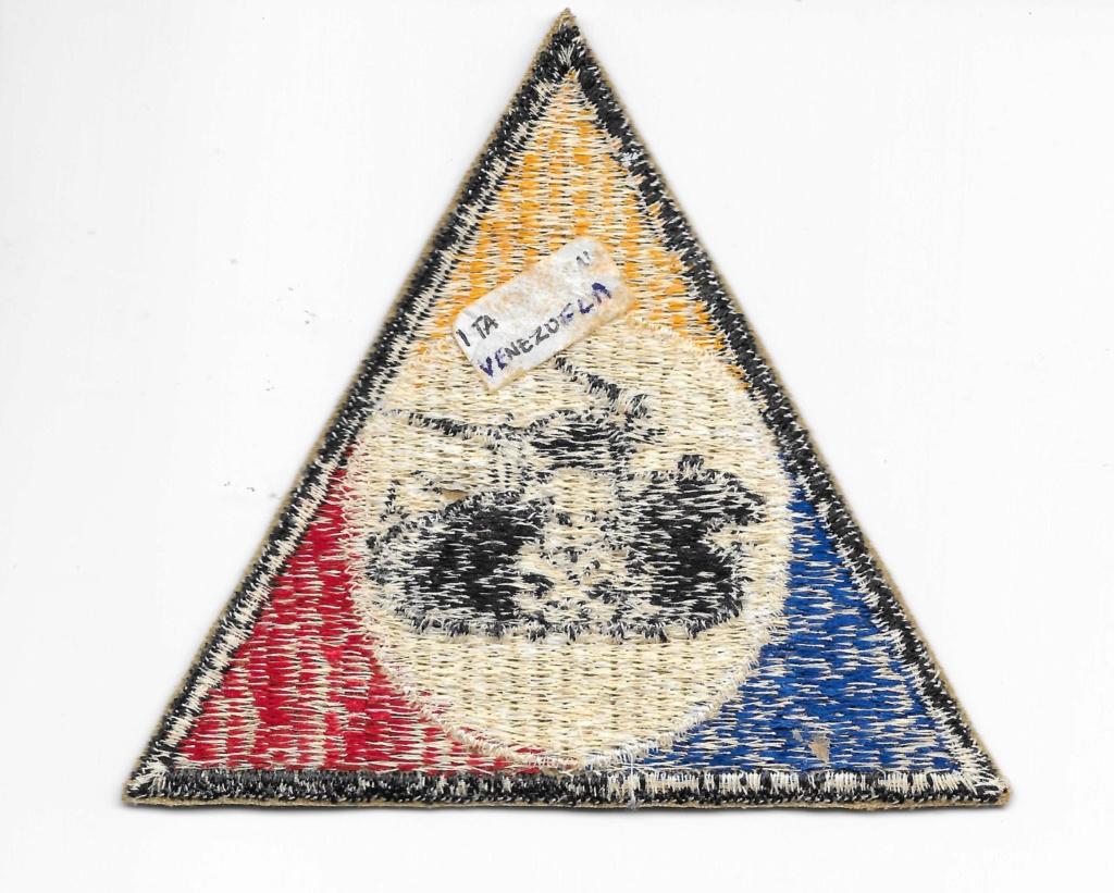 Venezuelan armoured cloth badge Venezu11
