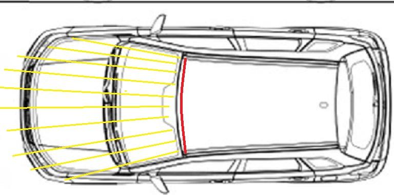 Roof mounted light bars Tak110