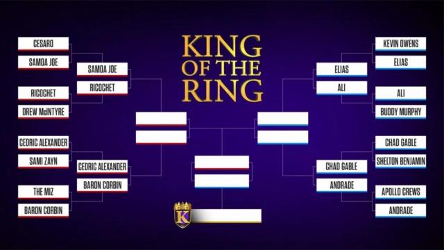 [Compétition] Le King Of The Ring de retour à Raw 20190813