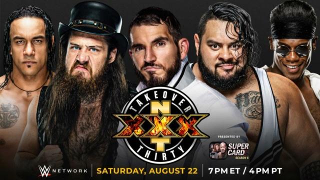 NXT TakeOver XXX du 23/08/2020 20200816