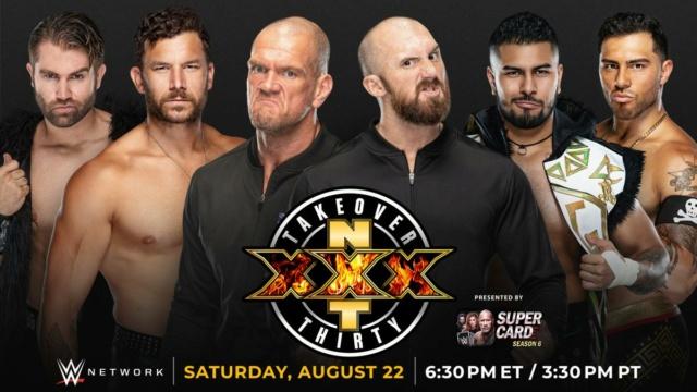 NXT TakeOver XXX du 23/08/2020 20200819