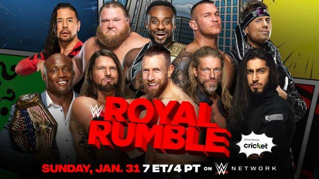 WWE Royal Rumble du 31/01/2021 20210118