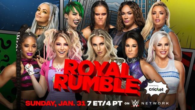 WWE Royal Rumble du 31/01/2021 20210120