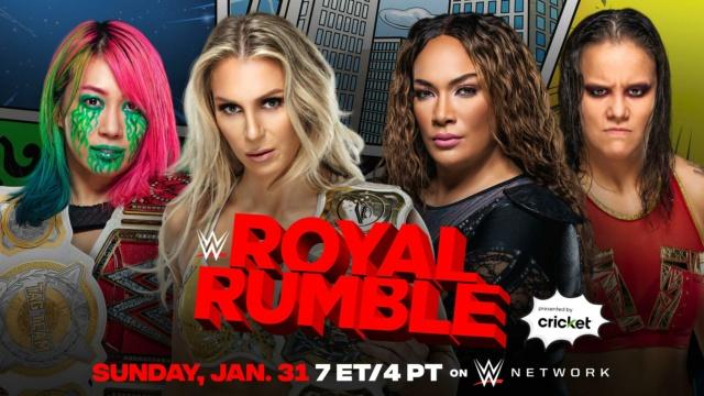 WWE Royal Rumble du 31/01/2021 20210122