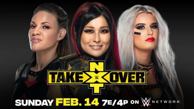 NXT TakeOver : Vengeance Day du 14/02/2021 20210123