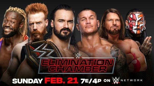 WWE Elimination Chamber du 21/02/2021 20210210
