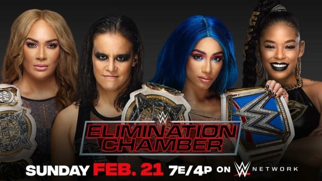 WWE Elimination Chamber du 21/02/2021 20210211