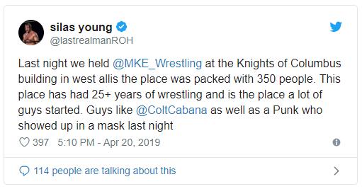 [Divers] CM Punk réapparaît sur un ring de catch ? Punk10