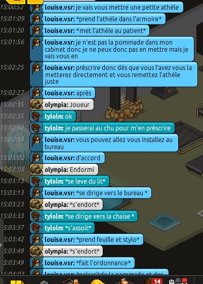 [CHU] Rapport d'Action RP de Louise.vsr Rp_lou20