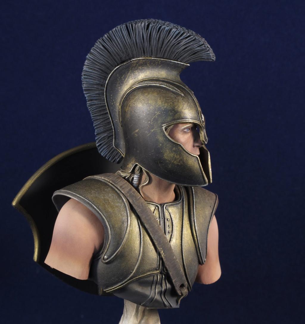Buste - Achilles - 1/10 - Young Miniatres - Terminé 054ae910