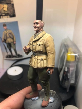 WWII Wehrmacht Tank Crewman - Africa Corps - 1/16 - Partie 8 - Fin 51085211