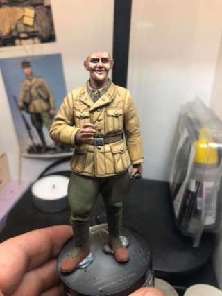 WWII Wehrmacht Tank Crewman - Africa Corps - 1/16 - Partie 8 - Fin 51085212