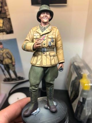 WWII Wehrmacht Tank Crewman - Africa Corps - 1/16 - Partie 8 - Fin 51275610