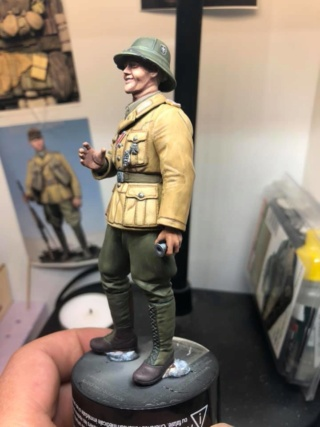 WWII Wehrmacht Tank Crewman - Africa Corps - 1/16 - Partie 8 - Fin 51289010