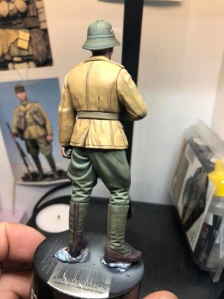 WWII Wehrmacht Tank Crewman - Africa Corps - 1/16 - Partie 8 - Fin 51325610