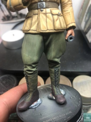 WWII Wehrmacht Tank Crewman - Africa Corps - 1/16 - Partie 8 - Fin 51378910