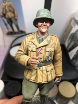 WWII Wehrmacht Tank Crewman - Africa Corps - 1/16 - Partie 8 - Fin 51588411
