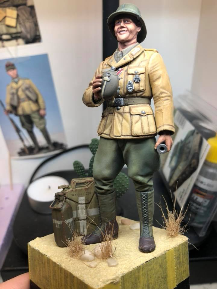 WWII Wehrmacht Tank Crewman - Africa Corps - 1/16 - Partie 8 - Fin 51628710