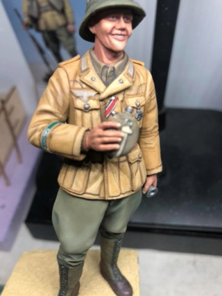 WWII Wehrmacht Tank Crewman - Africa Corps - 1/16 - Partie 8 - Fin 51813411