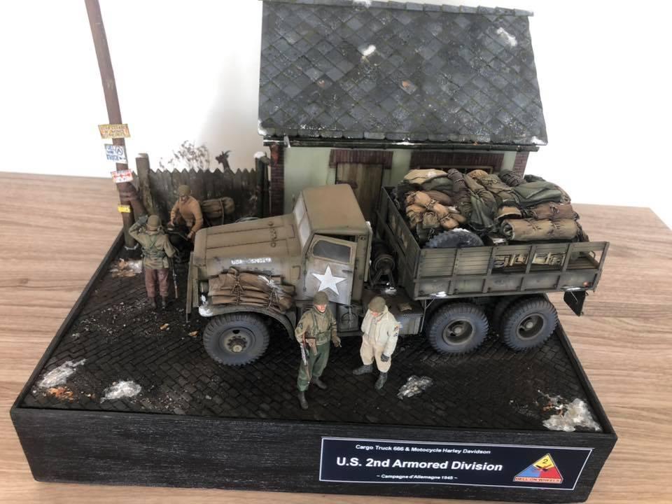 Diorama 1/35 - US White 666 Cargo Truck - Fin 57232210