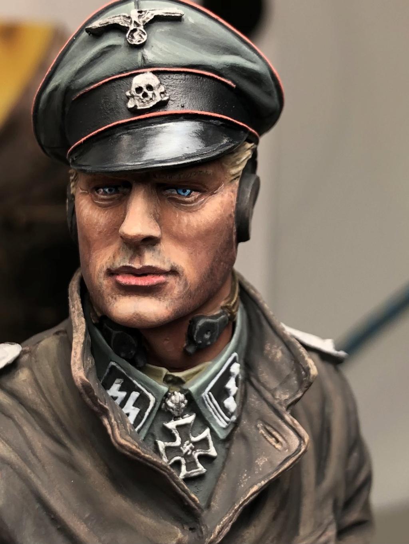 Buste - SS Panzer Commander Normandie 1944 - Young Miniatures - Terminé  57743910