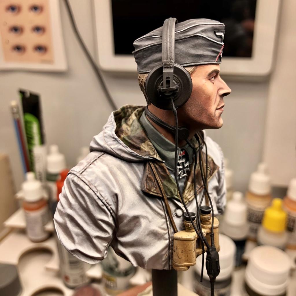 Buste - King Tiger Commander - Life Miniatures - 1/10 - 2ème version - Terminé C5789410