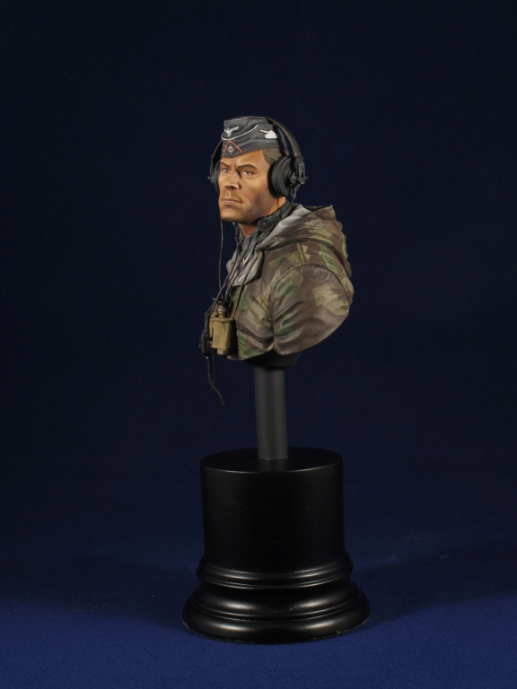 Buste - King Tiger Commander - Life Miniatures - 1/10 - Terminé C6f58410