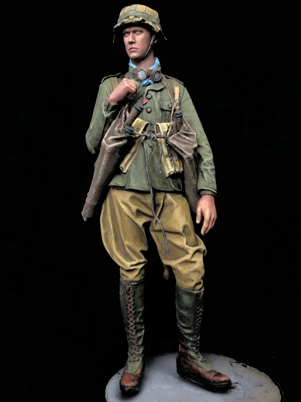 DAK Panzer Pionier 1942 - Andrea Miniatures - Terminé Ef3f7110