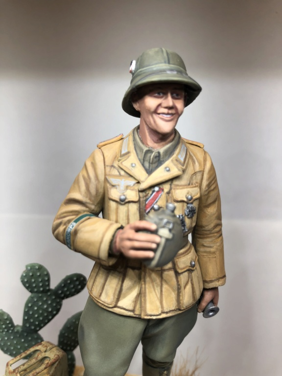 WWII Wehrmacht Tank Crewman - Africa Corps - 1/16 - Partie 8 - Fin Img_1310