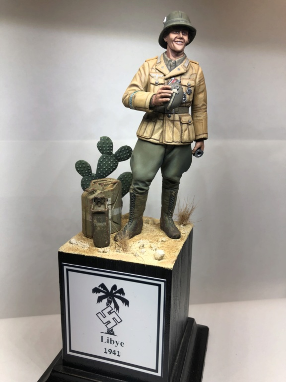 WWII Wehrmacht Tank Crewman - Africa Corps - 1/16 - Partie 8 - Fin Img_1311