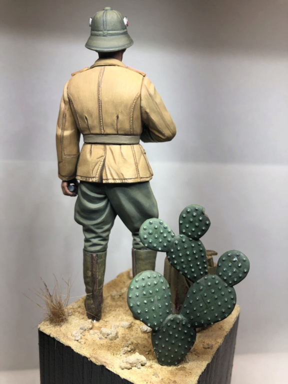 WWII Wehrmacht Tank Crewman - Africa Corps - 1/16 - Partie 8 - Fin Img_1312