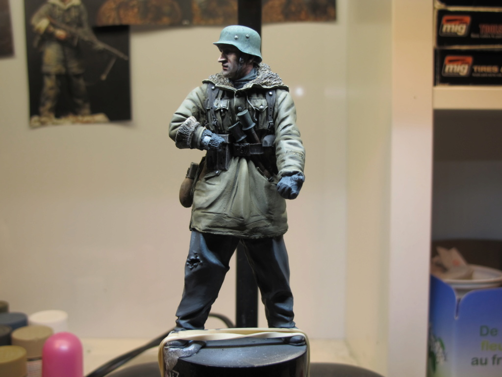 WWII - Figurine 1/16 - Mitrailleur Allemand 2e guerre mondiale - En cours Img_9810