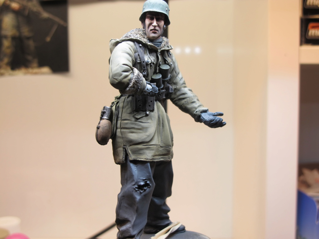 WWII - Figurine 1/16 - Mitrailleur Allemand 2e guerre mondiale - Terminé Img_9811