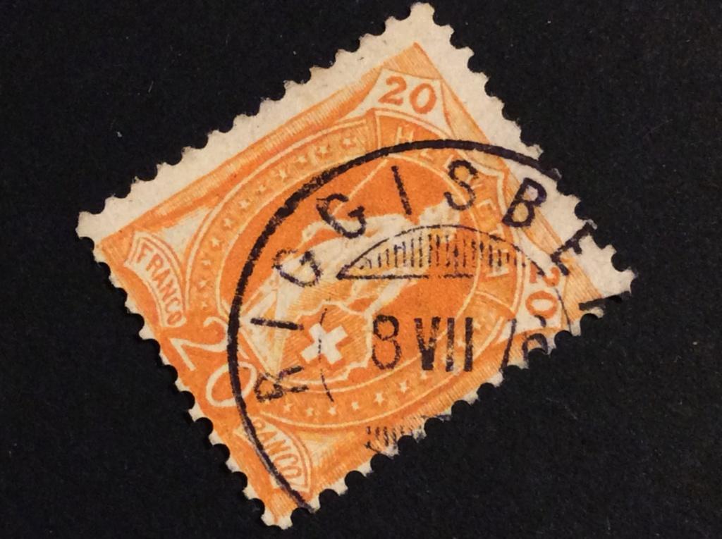 SBK 66A, Stehende Helvetia 20 Rappen 64299310