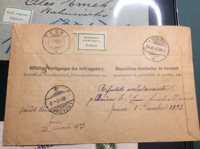 """Beipackzettelchen"" - Postvermerketiketten 848f7f10"