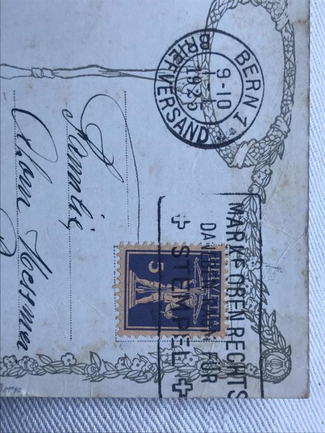"""""""Beipackzettelchen"""" - Postvermerketiketten D78de210"""