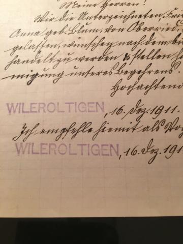 Wileroltigen BE - 357 Einwohner Image145