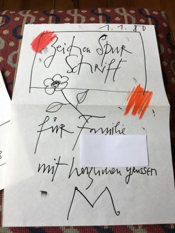 Autographen / Unterschriften bekannter Personen Image152