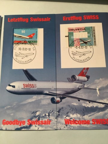 Swissair Letztflug/Swiss Erstflug Image193