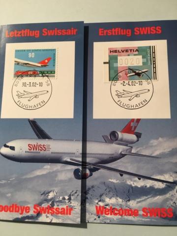 Swissair Letztflug/Swiss Erstflug Image194