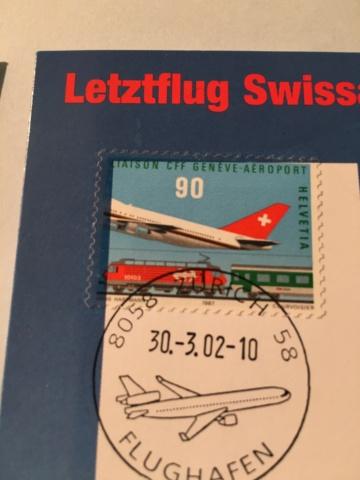 Swissair Letztflug/Swiss Erstflug Image195