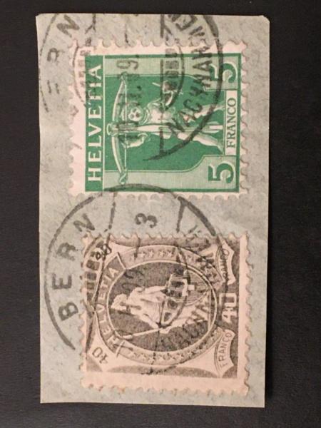 Briefmarken auf Briefstück Image207